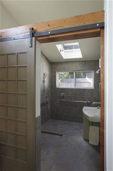 bathroom in garage s glorious garage conversion all cherried out and green to boot homebuilding