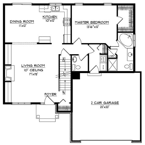 kardelle multi level home plan 051d 0141 house plans and