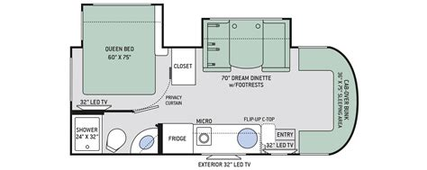 Sprinter Rv Floor Plans | floor plan siesta sprinter 24ss