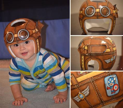 helmet design for babies artist transforms babies head shaping helmets into