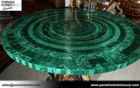 Home Kitchen Designs by Luxury Slab Amp Furniture In Malachite Semi Precious