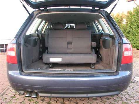 Audi A6 7 Sitzer by 3te Sitzbank Kindersitzbank Notsitzbank Audi A6 7 Sitzer 5