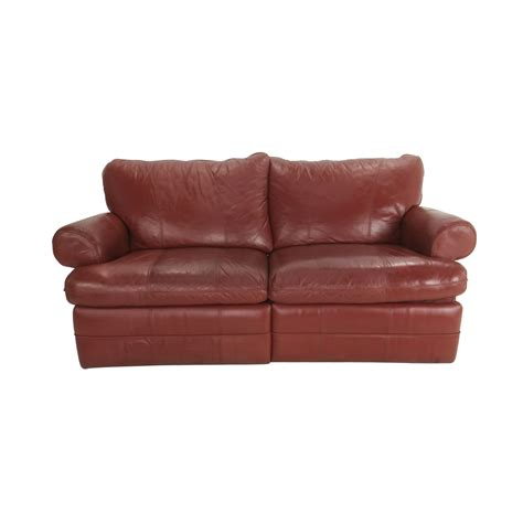 la z boy sofas 84 off la z boy la z boy red recliner couch sofas