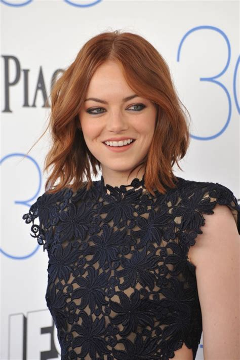 emma stone wavy hair 17 best images about celebrity hairstyles on pinterest