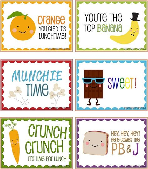 printable lunch quotes free lunch box printables 8 great designers