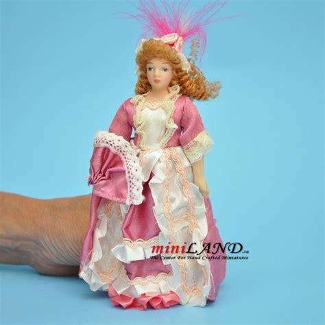 5 porcelain dolls in pink porcelain doll 5 5 quot h