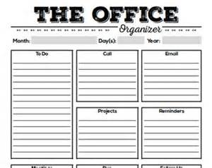 work day organizer planner page work planner printable