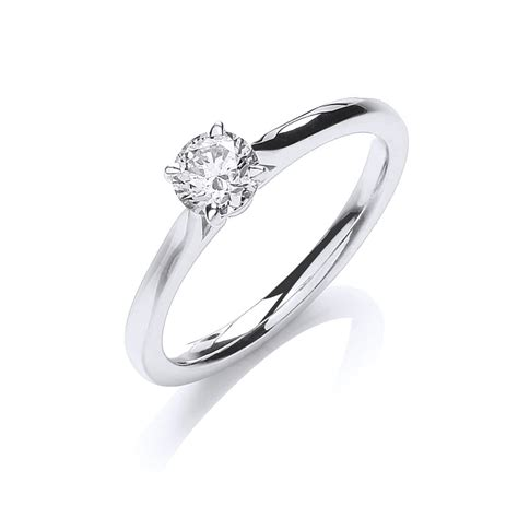 single band engagement rings single brilliant cut engagement ring 0 40ct