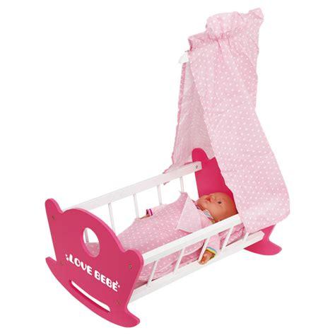 lit balancelle avec ciel de lit de bebe