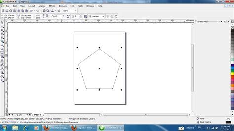 cara membuat underline html tutorial coreldraw cara membuat segi banyak polygon