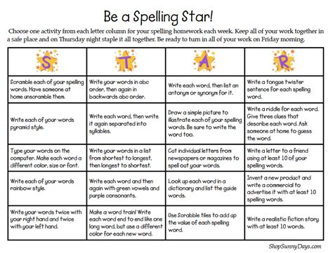 printable spelling games for year 5 show and tell tuesday spelling sunny days in second grade