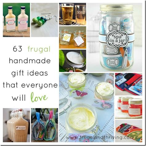 Ideas For Handmade Gifts - frugal diy gift ideas