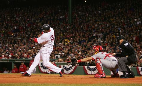 david ortiz lagging numbers but still clutch