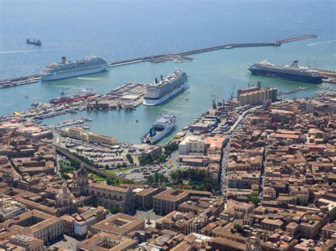 porto catania dove siamo catania cruise terminal