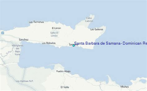 santa barbara tide tables santa barbara de samana republic tide station