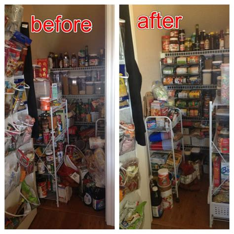 Clean Pantry by Before And After Pantry Clean Out Pictures Pantry