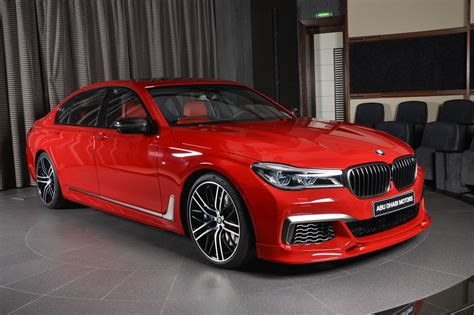 red bmw 2017 imola red bmw m760li could brighten up anyone s day