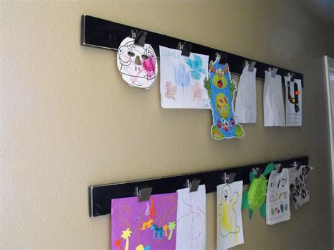 art display ideas a little of this a little of that diy kids art display