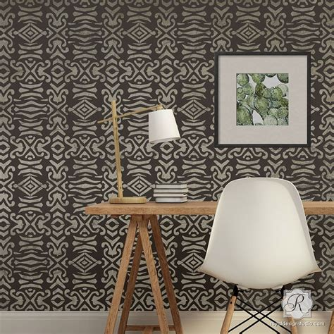 tribal pattern furniture 17 best images about african tribal stencils design on