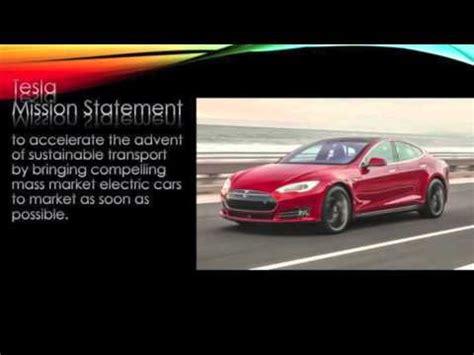 elon musk vision statement tesla motors mission statement youtube