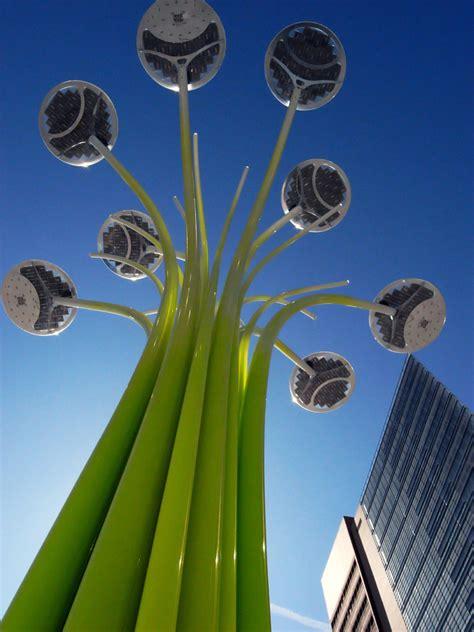Ross Lovegrove Solar Tree At Clerkenwell Design Week Solar Tree Lights