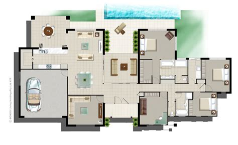 3d home kit by design works inc house floor plan 3d home kit modern home design ideas