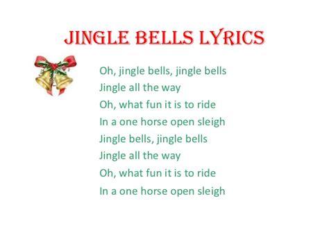 printable lyrics jingle bells jingle bells lyrics