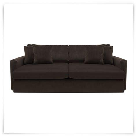 tara2 dk brown micro sofa