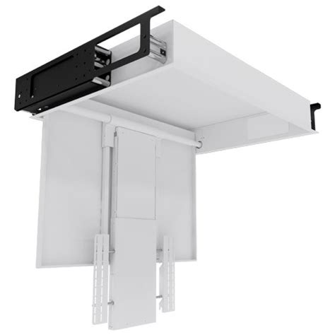 motorized retractable tv ceiling mount ceiling hinge section future automation