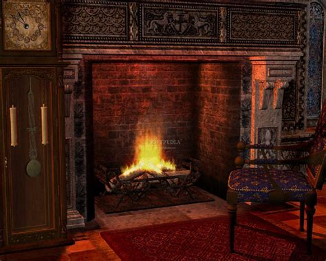 Fireplace Background by Fireplace Desktop Backgrounds Wallpaper Cave