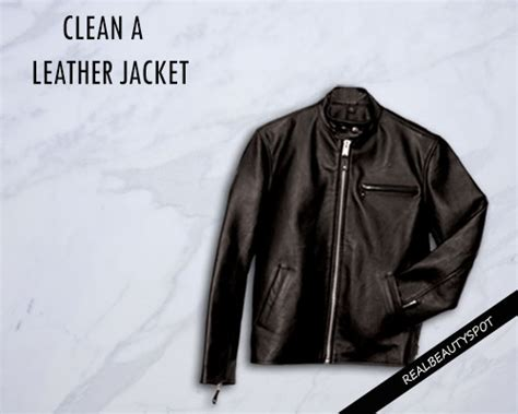 Clean A Leather by Ways To Clean A Leather Jacket Theindianspot