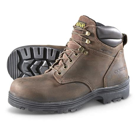 carolina mens work boots carolina s waterproof steel toe work boots 645626
