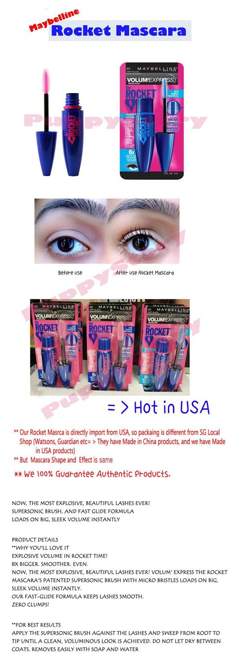 Today Only Pink Mascara 1 Day Sale by Stock In Sg Oct 26 One Day Time Sale Today Only Free