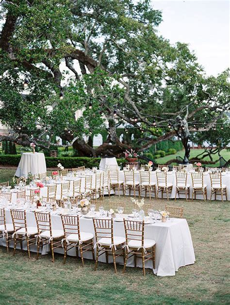 how to plan a backyard wedding reception 11 clever seating arrangements shapes spaces and people