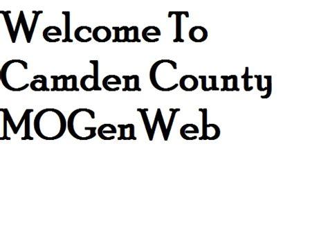 Camden County Marriage Records Camden County Resources