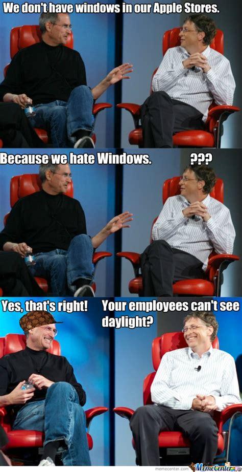 Steve Jobs And Bill Gates Meme - steve jobs and bill gates by i doslu meme center