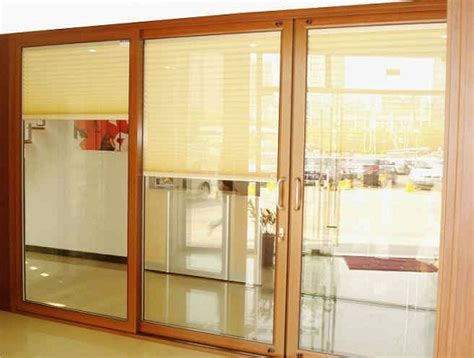 sliding glass patio doors blinds