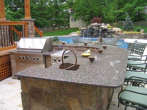 backyard designs with pool and outdoor kitchen triyae backyard designs with pool and outdoor kitchen various design inspiration for