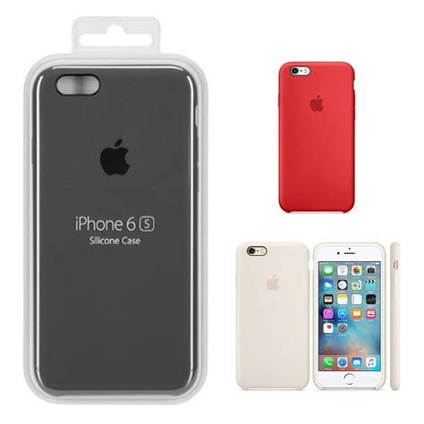 Silicone Iphone 6 Plus capinha original silicone logo iphone 6 plus