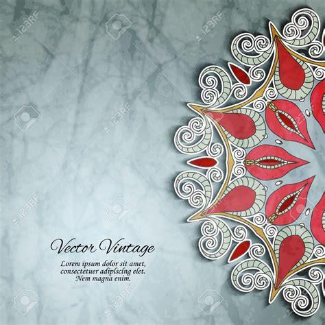 Hindu Wedding Card Designs Vector