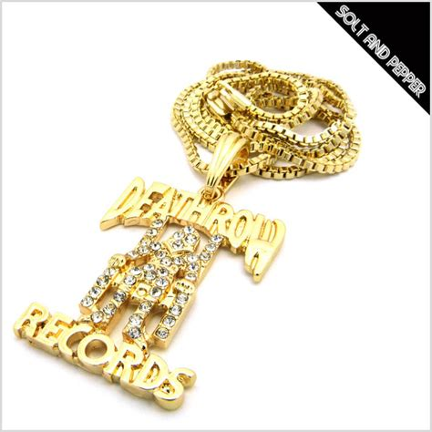 Row Records Chain Solt And Pepper Rakuten Global Market Response No Brand Deathrow Records Necklace