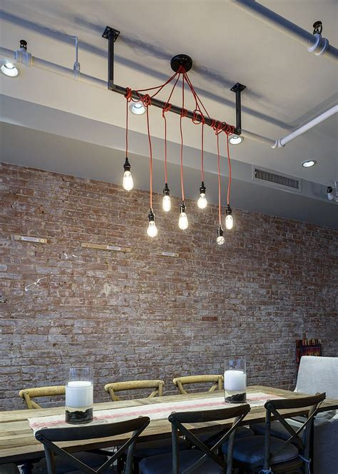 exposed brick wall lighting 50 bold and inventive dining rooms with brick walls