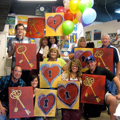 paint nite for couples we re the birthday venue we also