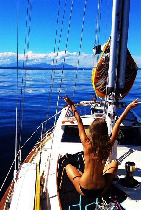 boat girls tumblr rent a sailboat and sail around the world sailing away