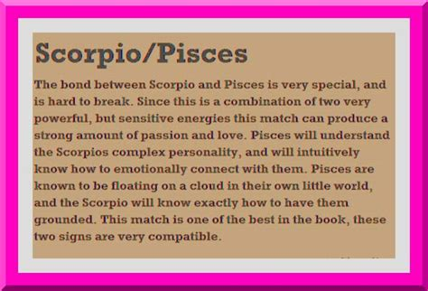 zodiac signs scorpio and pisces