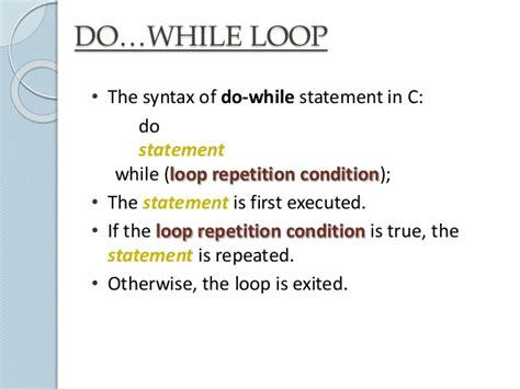 pattern programs in c using do while loop loops c