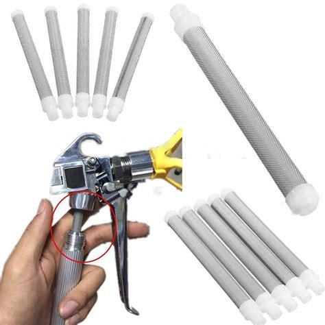 Airless Spray Gun Filter No 60 5pcs airless paint spray gun filter screen elements 60 mesh for wagner ebay