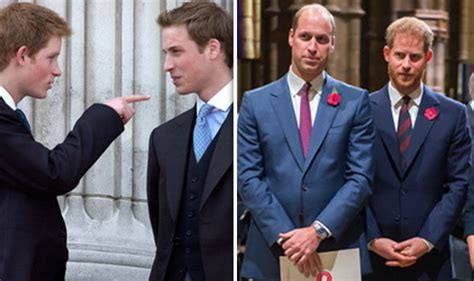 prince william and harry feud royal feud how prince harry boasted to prince william i