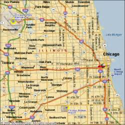 Maps Chicago by Map Of Chicago Area Submited Images Pic2fly