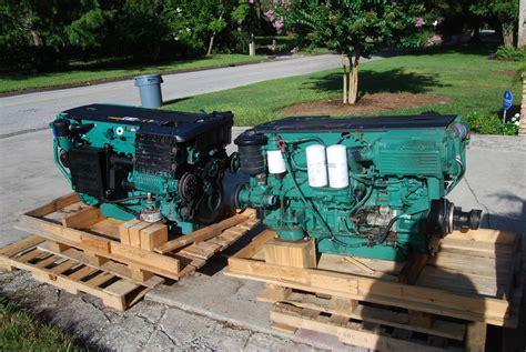 volvo d6 marine engine volvo d6 370 marine diesels with dph duoprop drives set
